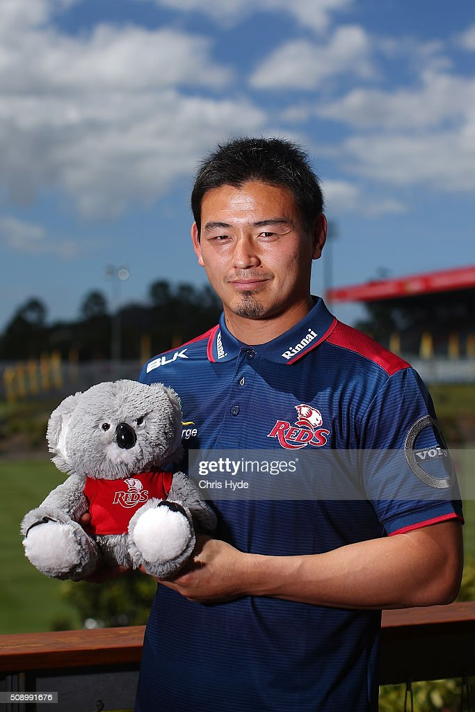 Ayumu Goromaru poses during a Reds Super Rugby media opportunity at Ballymore Stadium on February 8, 2016 in Brisbane, Australia.