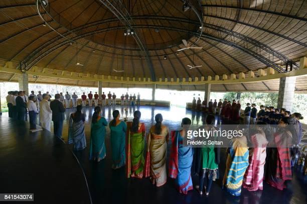 Ayurvedagram Heritage Wellness Retreat in Bangalore meditation and yoga on February 15 2015 in Bangalore India