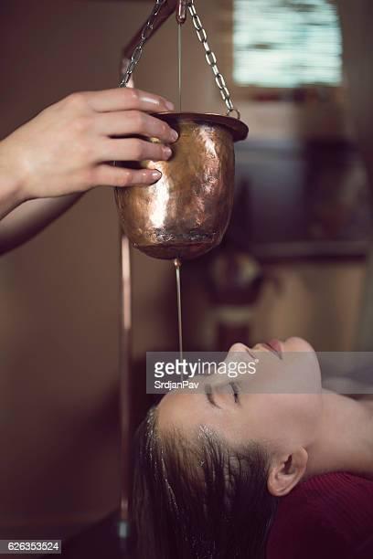 Ayurvedic Shirodhara Treatment