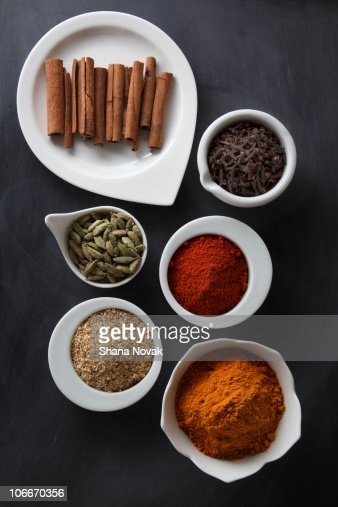 Ayurvedic Winter Warming Spices : Stock Photo