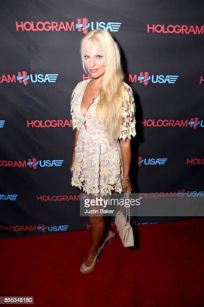 Aza Queen attends Hologram USA's Gala Preview at Hologram USA Theater on September 28 2017 in Los Angeles California