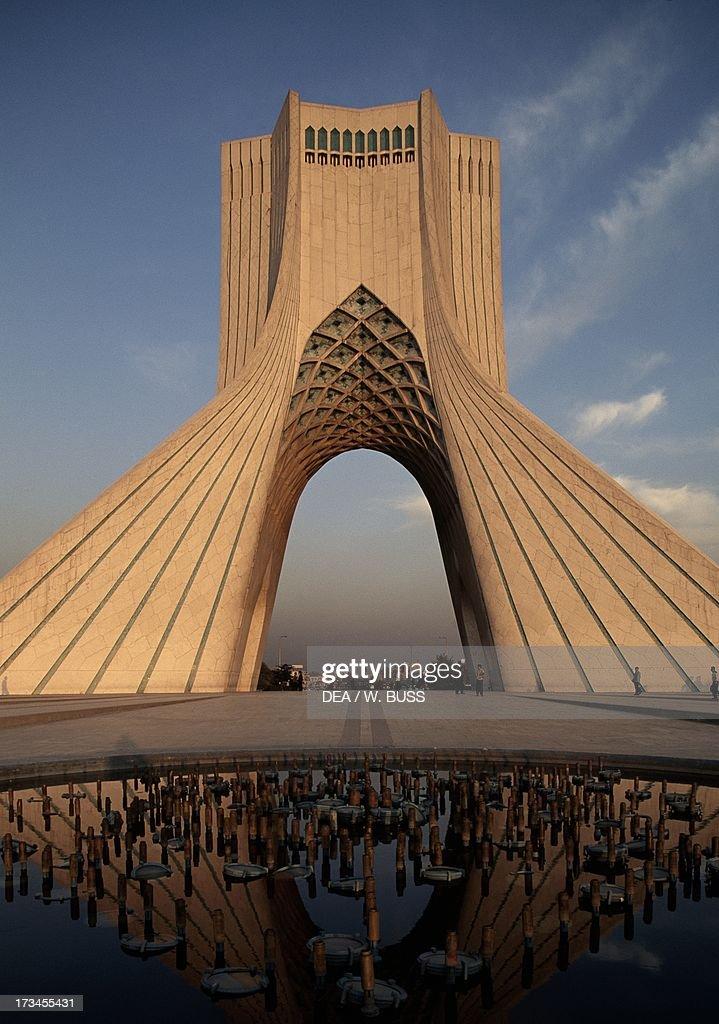 Azadi Tower or King Memorial Tower Tehran Iran