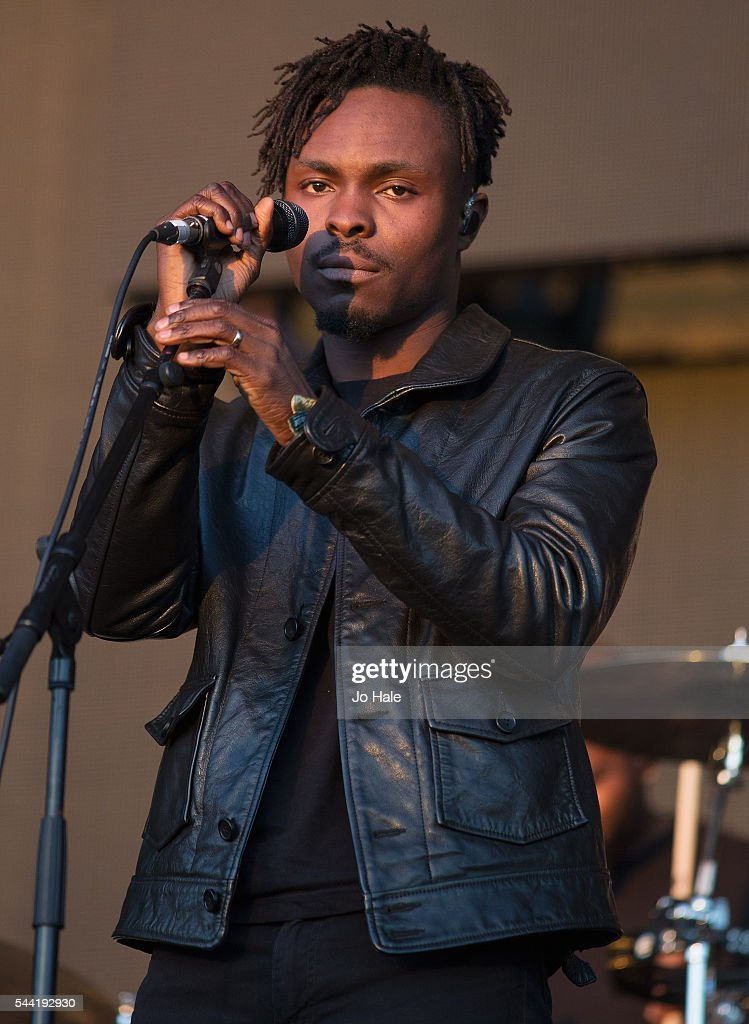 Azakel performs on stage with Massive Attack as part of the Barclaycard Presents British Summer Time Hyde Park: Day 1 at Hyde Park on July 1, 2016 in London, England.