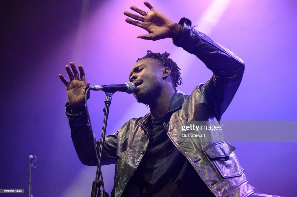 Azekel Adesuyi performs on stage at The Roundhouse on March 13, 2017 in London, England.