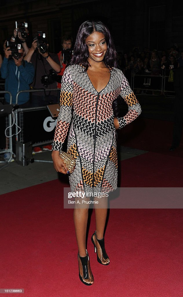 Azelia Banks attends the GQ Men of the Year Awards 2012 at The Royal Opera House on September 4, 2012 in London, England.