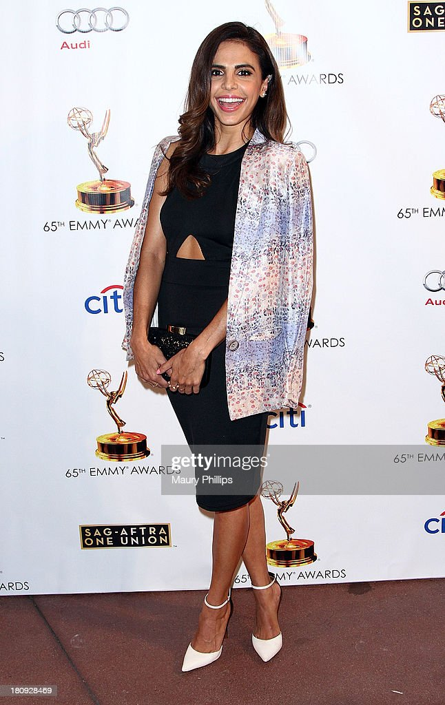 Azita Ghanizada arrives at Dynamic & Diverse - A 65th Emmy Awards Nominee celebration at Academy of Television Arts & Sciences on September 17, 2013 in North Hollywood, California.