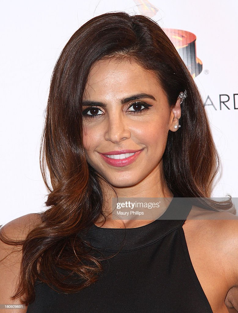 <a gi-track='captionPersonalityLinkClicked' href=/galleries/search?phrase=Azita+Ghanizada&family=editorial&specificpeople=4647934 ng-click='$event.stopPropagation()'>Azita Ghanizada</a> arrives at Dynamic & Diverse - A 65th Emmy Awards Nominee celebration at Academy of Television Arts & Sciences on September 17, 2013 in North Hollywood, California.