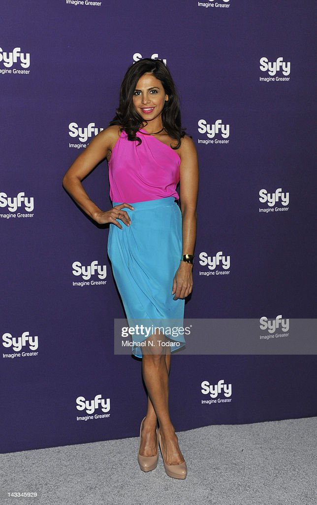Azita Ghanizada attends the Syfy 2012 Upfront event at the American Museum of Natural History on April 24, 2012 in New York City.