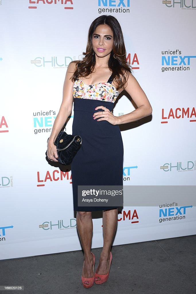 Azita Ghanizada attends the UNICEF NextGen Los Angeles launch at LACMA on May 9, 2013 in Los Angeles, California.