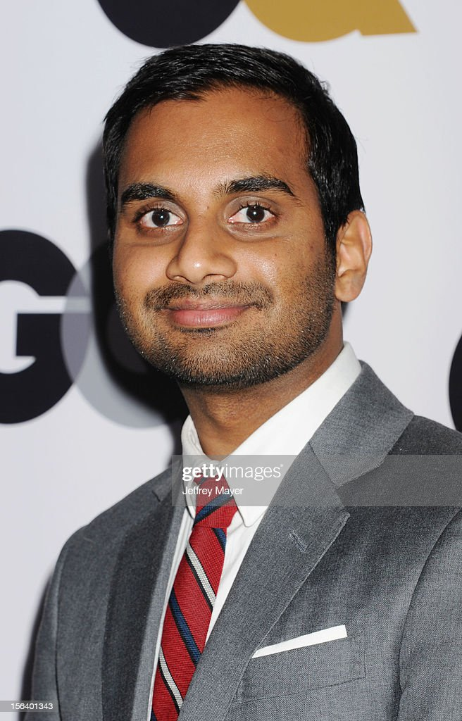 Aziz Ansari arrives at the GQ Men Of The Year Party at Chateau Marmont Hotel on November 13, 2012 in Los Angeles, California.