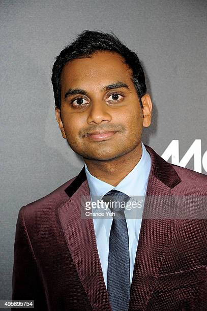 Aziz Ansari attends 'Master Of None' New York premiere at AMC Loews 19th Street East 6 theater on November 5 2015 in New York City