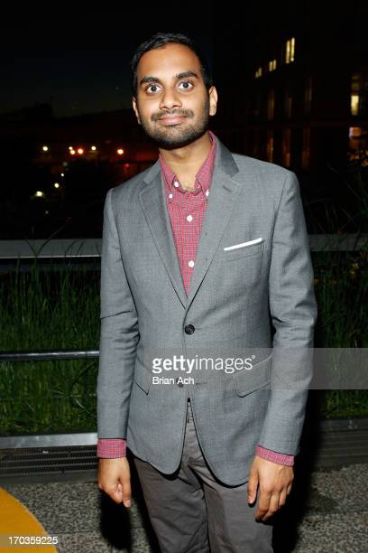 Aziz Ansari attends Summer Party on The Highline presented by Coach at High Line Park on June 11 2013 in New York City