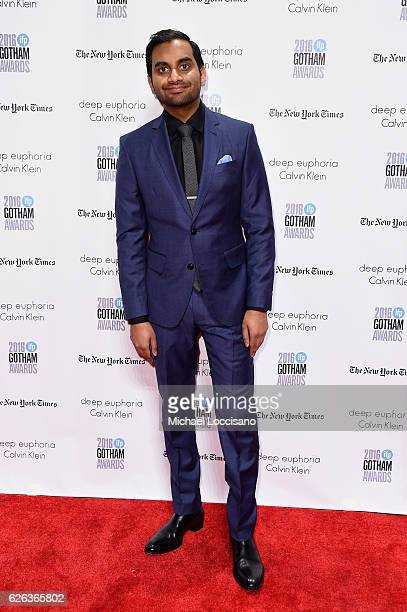 Aziz Ansari attends the 26th Annual Gotham Independent Film Awards at Cipriani Wall Street on November 28 2016 in New York City
