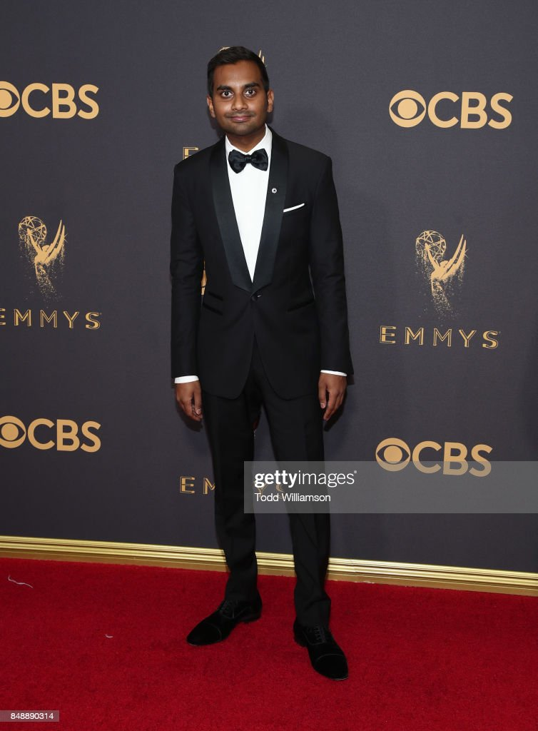Aziz Ansari attends the 69th Annual Primetime Emmy Awards at Microsoft Theater on September 17, 2017 in Los Angeles, California.