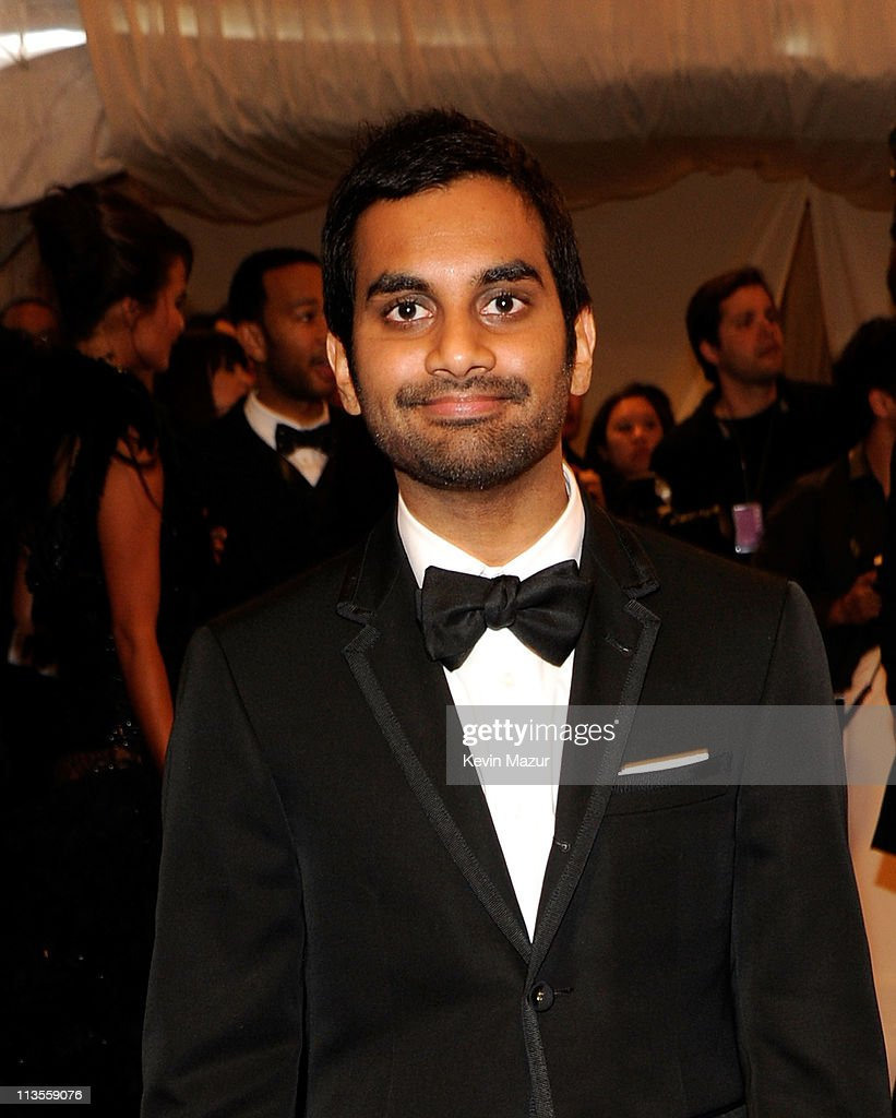 <a gi-track='captionPersonalityLinkClicked' href=/galleries/search?phrase=Aziz+Ansari&family=editorial&specificpeople=4266146 ng-click='$event.stopPropagation()'>Aziz Ansari</a> attends the 'Alexander McQueen: Savage Beauty' Costume Institute Gala at The Metropolitan Museum of Art on May 2, 2011 in New York City.