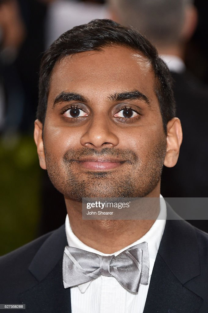 Aziz Ansari attends the 'Manus x Machina: Fashion In An Age Of Technology' Costume Institute Gala at Metropolitan Museum of Art on May 2, 2016 in New York City.