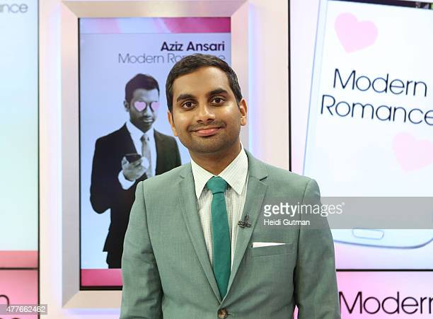 AMERICA Aziz Ansari is a guest on 'Good Morning America' 6/16/15 airing on the ABC Television Network