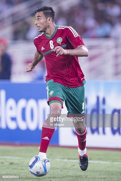 Aziz Bouhaddouz of Morocco during the Africa Cup of Nations match between Morocco and Sao Tome E Principe at September 4 2016 at the Complexe Sportif...