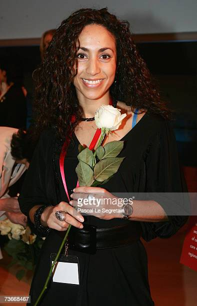 Aziza Oubaita attends The First Global Summit On Cervical Cancer on March 22 2007 at the UNESCO House in Paris France