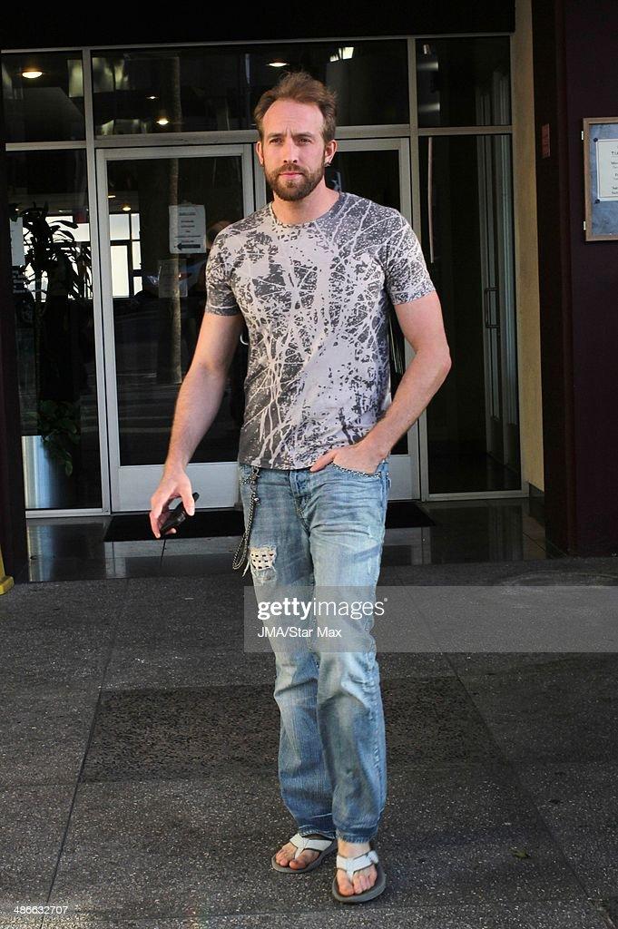 Azmyth Kaminski is seen on April 24, 2014 in Los Angeles, California.