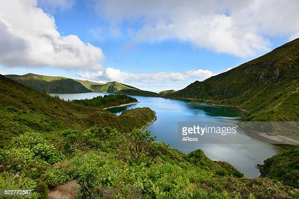Azores amazing landscape