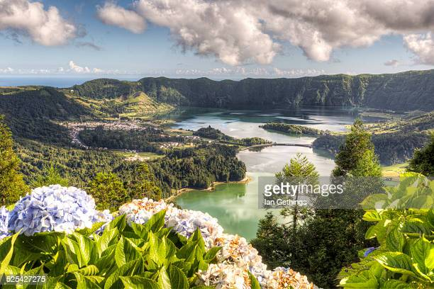 Azores Lake and Mountain
