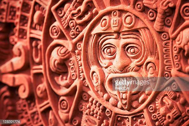 Aztec calendar Stone of the Sun