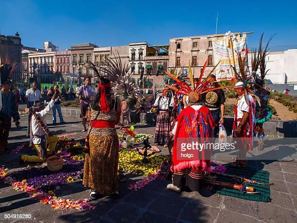 Aztec Dancers Mexico City