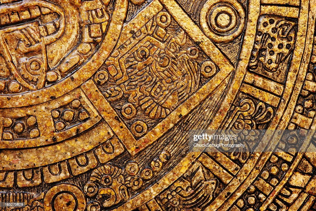 Aztec Design Keramikfliesen Dekor : Stock-Foto