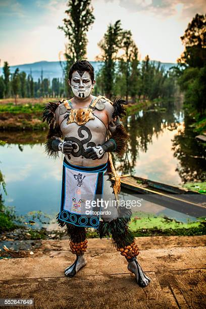Aztec Man (real aztec) from Mixquic in xochimilco