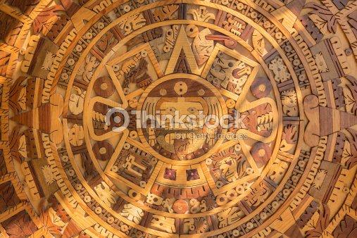 Aztec Solar Calendar Stock Photo | Thinkstock