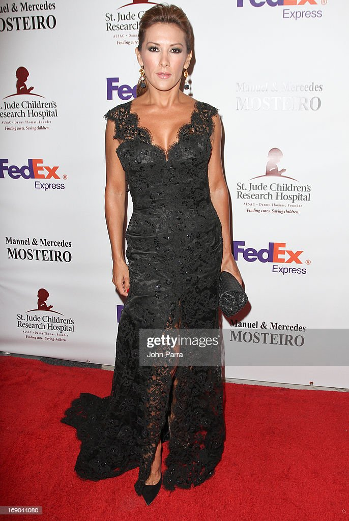 Azucena Cierco attends 11th annual FedEx/St. Jude Angels & Stars Gala in Miami at JW Marriott Marquis on May 18, 2013 in Miami, Florida.