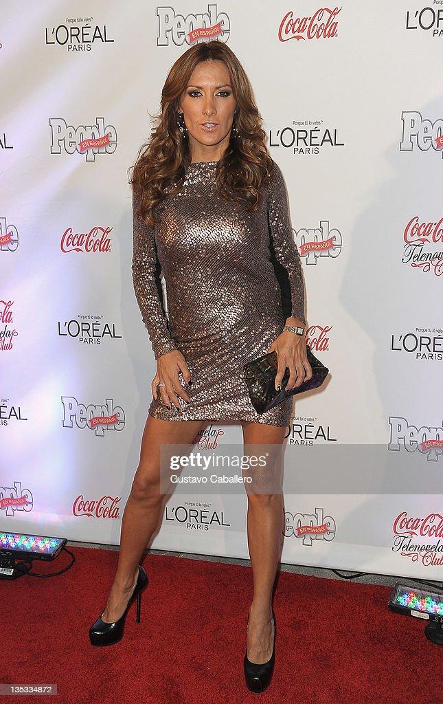 Azucena Cierco attends People en Epanol's Las Estrellas del Ano 2011 at Rubell Family Collection on December 8, 2011 in Miami, Florida.