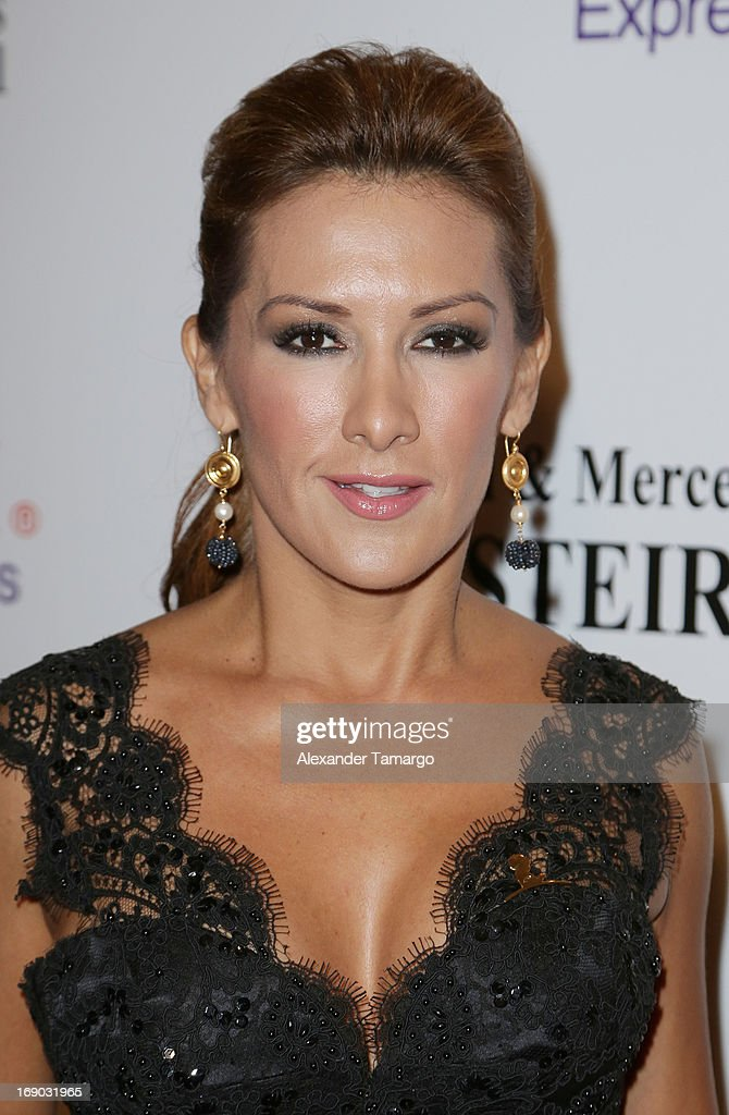 Azucena Cierco attends the 11th annual FedEx/St. Jude Angels & Stars Gala at JW Marriott Marquis on May 18, 2013 in Miami, Florida.