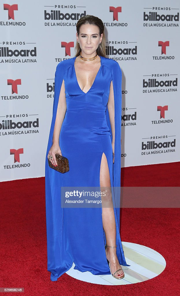 Azucena Cierco attends the Billboard Latin Music Awards at Bank United Center on April 28, 2016 in Miami, Florida.