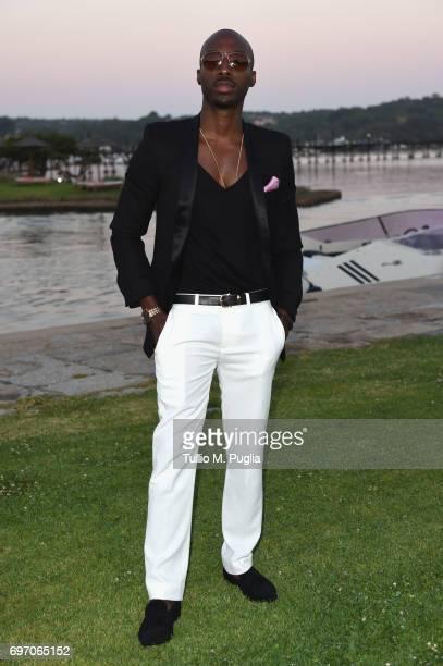 Azuka Ononye attends The Costa Smeralda Invitational Gala Dinner at Cala di Volpe Hotel Costa Smeralda on June 17 2017 in Olbia Italy