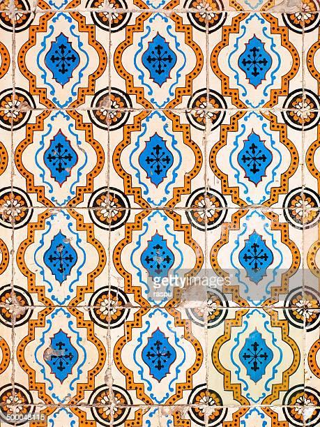 Azulejos o Portuguese tiles