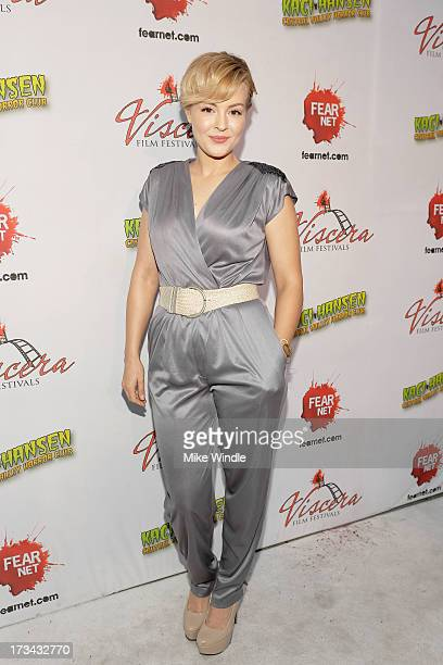 Azure Parsons arrives at the 2013 Viscera Film Festival Red Carpet Event at American Cinematheque's Egyptian Theatre on July 13 2013 in Hollywood...