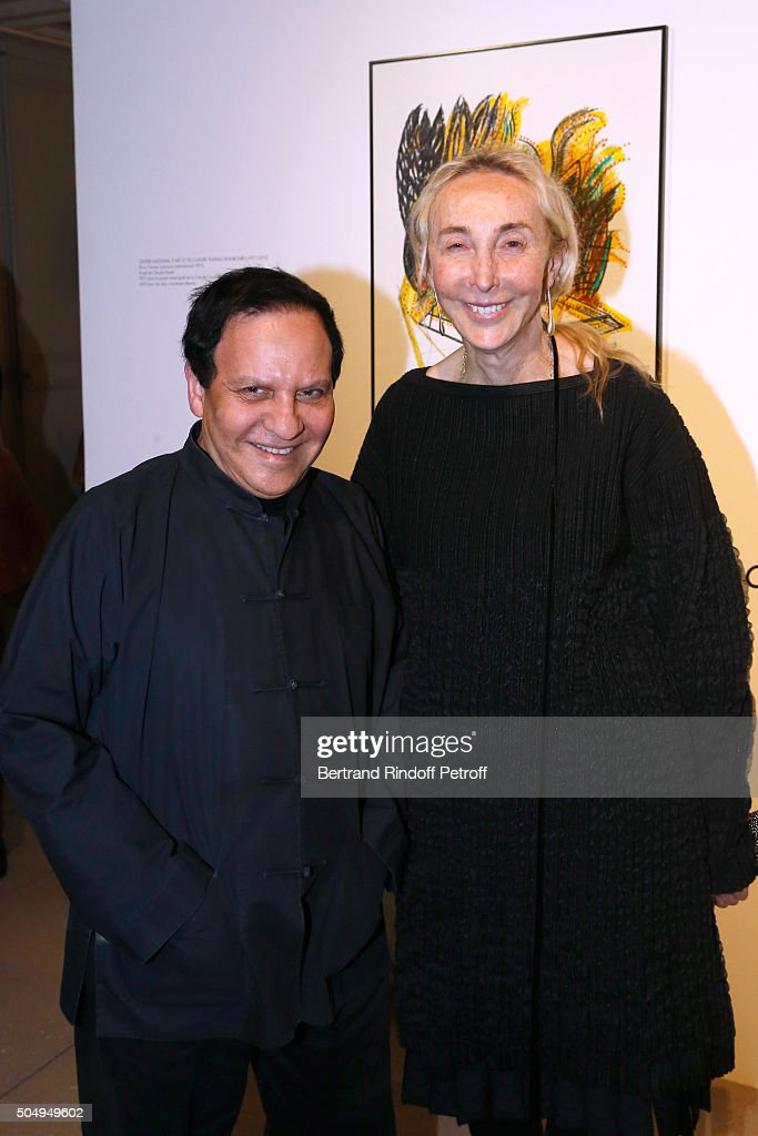 <a gi-track='captionPersonalityLinkClicked' href=/galleries/search?phrase=Azzedine+Alaia+-+Fashion+Designer&family=editorial&specificpeople=8019273 ng-click='$event.stopPropagation()'>Azzedine Alaia</a> and <a gi-track='captionPersonalityLinkClicked' href=/galleries/search?phrase=Carla+Sozzani&family=editorial&specificpeople=884879 ng-click='$event.stopPropagation()'>Carla Sozzani</a> attend the 'Jean Nouvel and Claude Parent, Musees a venir' Exhibition Opening at Galerie Azzedine Alaïa on January 13, 2016 in Paris, France.