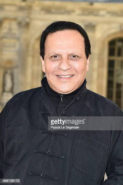 Azzedine Alaia attends the Christian Dior show as part of the Paris Fashion Week Womenswear Spring/Summer 2015 on September 26 2014 in Paris France