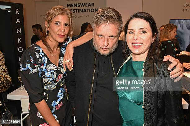 Azzi Glasser Rankin and Sadie Frost attend the launch of 'SX Rankin' a new fragrance collaboration between photographer Rankin and fragrance designer...
