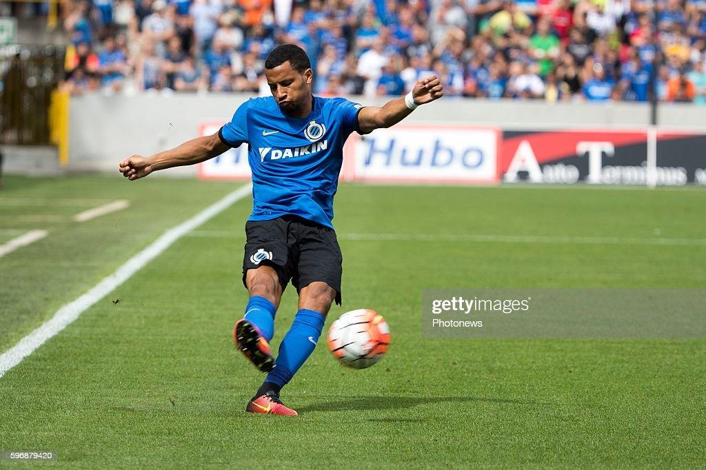 b02 Ricardo Van Thijn defender of Club Brugge during the Jupiler Pro League match between Club Brugge and Standard de Liege at the Jan Breyden...