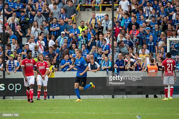b04 Bjorn Engels defender of Club Brugge 22 during the Jupiler Pro League match between Club Brugge and Standard de Liege at the Jan Breyden stadium...