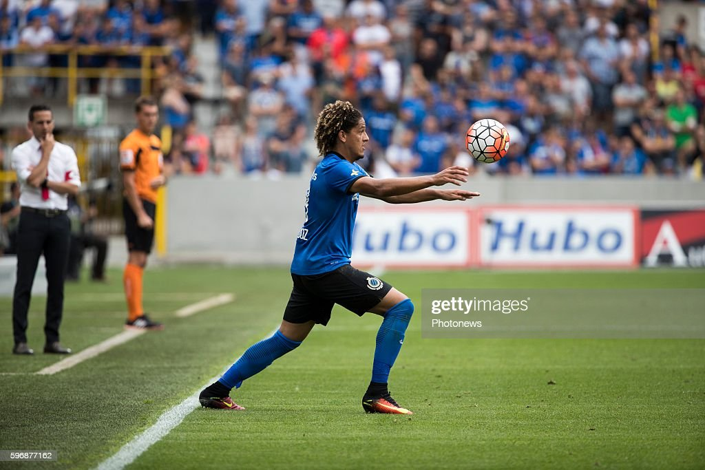 b1 Felie Gedoz De Conceicao midfielder of Club Brugge during the Jupiler Pro League match between Club Brugge and Standard de Liege at the Jan...