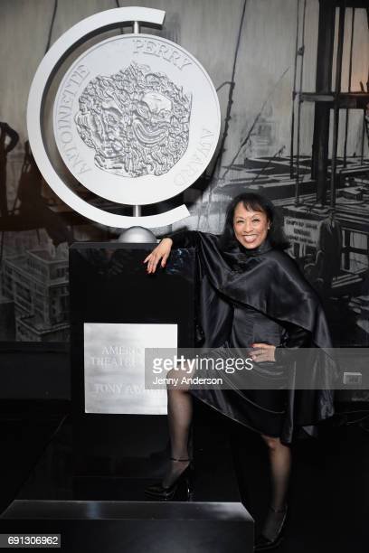 Baayork Lee attends Designed To Celebrate A Toast To The 2017 Tony Awards Creative Arts Nominees at The Lamb's Club at the Chatwal NY