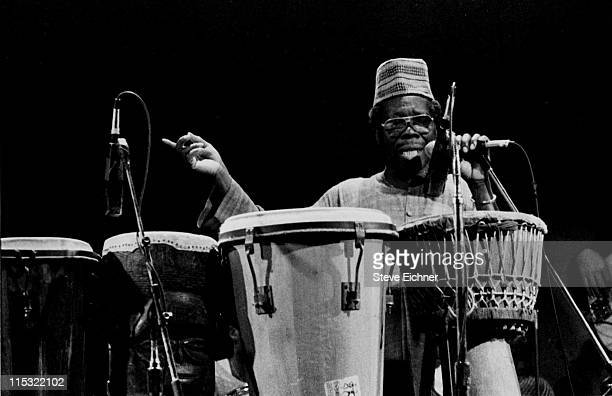 Baba Olatunji during Baba Olatunji in Concert at SOB's 1989 at SOB's in New York City New York United States