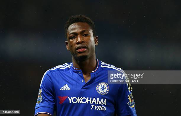 Baba Rahman of Chelsea during the Barclays Premier League match between Chelsea and Newcastle United at Stamford Bridge on February 13 2016 in London...