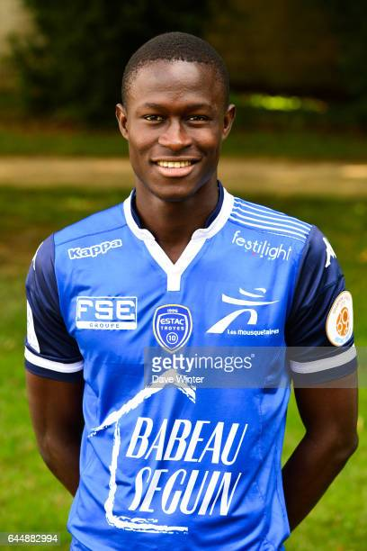 Babacar GUEYE Photo Officielle de Troyes Ligue 1 Photo Dave Winter / Icon Sport