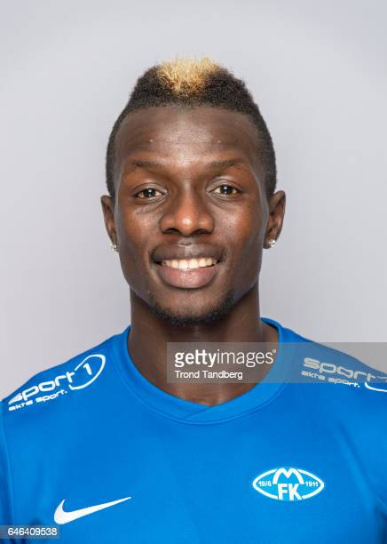 Babacar Sarr of Team Molde FK Photocall on February 21 2017 in Molde Norway