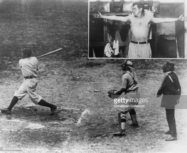 Babe Ruth breaks the major league record with his 3rd home run in 1920 in New York